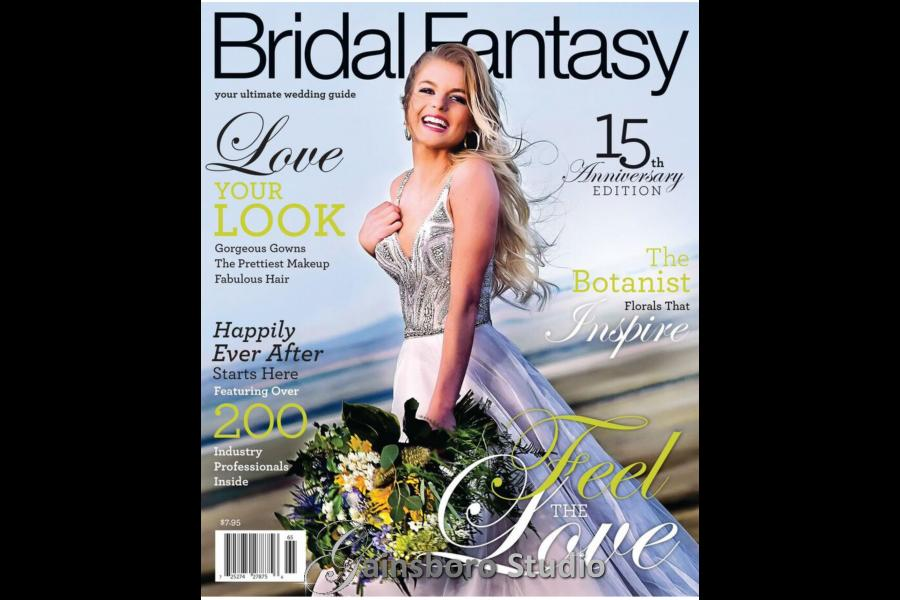 Cover Photo by Joan Bateman of Gainsboro Studio, Bridal Fantasy Magazine